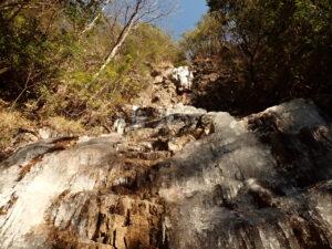 ハチノス大滝 氷瀑